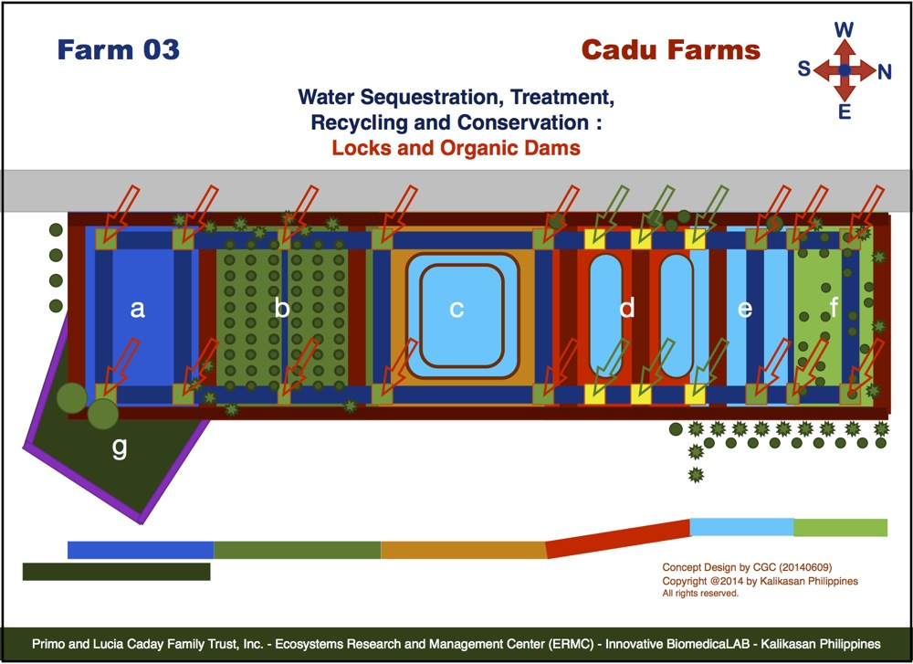 Cadu Farm 03 Projects : Locks and Organic Dams